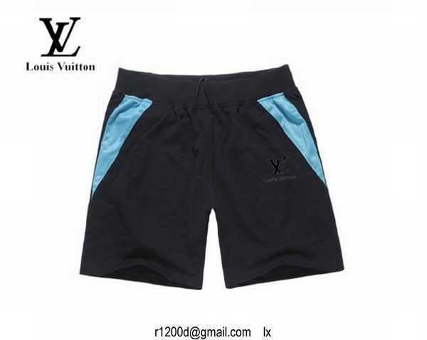 Short de bain louis vuitton pas cher short louis vuitton for Short a carreaux homme